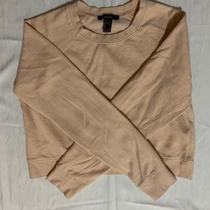 Forever 21 long-sleeved cropped sweater